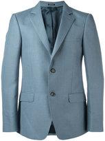 Alexander McQueen two button blazer - men - Silk/Mohair/Viscose - 48