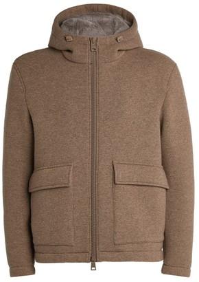 Herno Fur-Trim Hooded Jacket