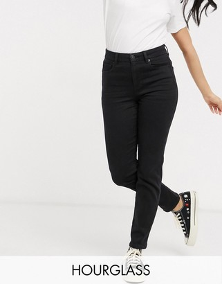 American Eagle curvy high rise skinny jeans in black