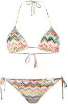 Missoni Mare zig-zag triangle bikini - women - Rayon/Nylon/Spandex/Elastane - 38