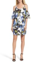 French Connection Women's Cold Shoulder Shift Dress