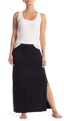 Barefoot Dreams Side Vent Knit Maxi Skirt