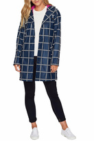 Hatley Navy Grid Raincoat