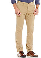 Michael Kors Garment-Dye Slim-Fit Flat-Front Chino Pants