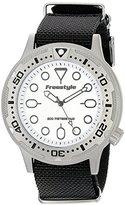 Freestyle Unisex 10017242 Ballistic Dive Analog Display Japanese Quartz Black Watch