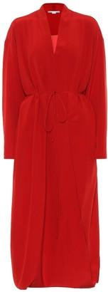 Stella McCartney Silk midi dress