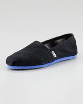 Toms Corduroy Slip-On, Black