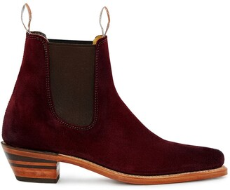 R.M. Williams heeled Chelsea boots