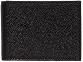 Thom Browne Pebbled Leather Classic Wallet W/ Flap