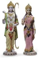 Lladro NEW Rama and Sita Limited Edition Sculptures