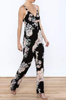 Ark & Co Pretty In Peonies Jumpsuit