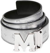 "MCM Claus Reversible Belt 1.75"" In Monogrammed Leather"