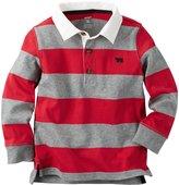 Carter's Stripe Polo Henley (Toddler/Kid) - Stripe - 6