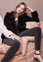 Mother All Bundled Up Shearling Jacket