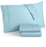 Sunham Caprice Solid Queen 4-Pc Sheet Set, 350 Thread Count