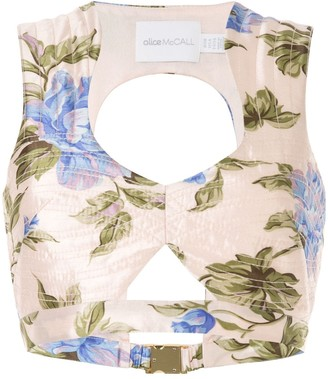 Alice McCall Wild Flowers top