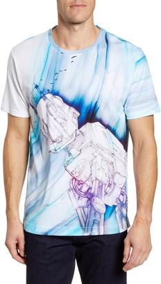 Robert Graham AT-AT Birds Graphic T-Shirt