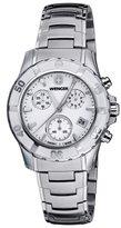 Wenger Women's 70749 Sport Chrono White Dial Steel Bracelet Watch