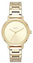 DKNY Women's 'The Modernist' Quartz Stainless Steel Casual Watch, Color:Gold-Toned (Model: NY2636)