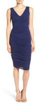 Bailey 44 Enigma Ruched Cutout Dress