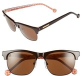 Jonathan Adler Women's 'Ipanema' 55Mm Sunglasses - Black