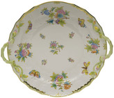Herend Queen Victoria Chop Plate with Handles