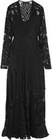 By Malene Birger Crochet-knit maxi dress
