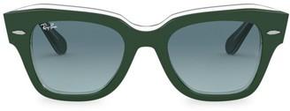 Ray-Ban RB2186 49MM Wayfarer Sunglasses