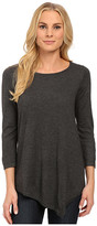 NYDJ Leann Asymmetric Hem Sweater