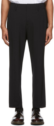 Wooyoungmi Black Wool Trousers