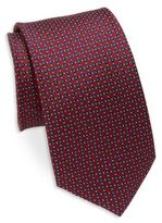 English Laundry Diamond-Print Silk Tie