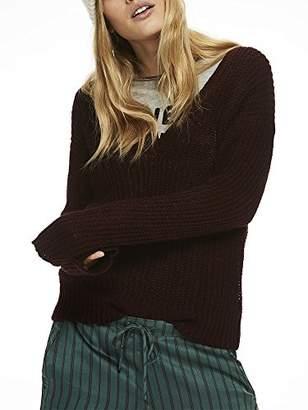 Scotch & Soda Women's's Deep V-Neck Knit Top Jumper M