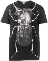 Alexander McQueen insect print T-shirt