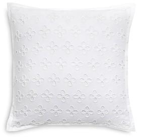 Kate Spade Oversized Eyelet Decorative Pillow, 16 x 16