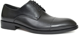 Joseph Abboud Black Matteo Leather Oxford