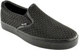 Zoo York Black Tail Woven Slip-On Sneaker