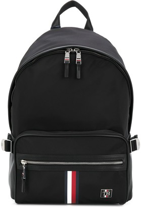 Tommy Hilfiger Faux Leather Backpack
