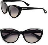 Tom Ford Eyewear Martina Classic Cat's-Eye Sunglasses