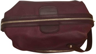 Balenciaga Burgundy Leather Small bags, wallets & cases
