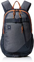 Volcom Substrate, Men's Backpack, Blau (Navy), 18x32x47 cm (B x H T)