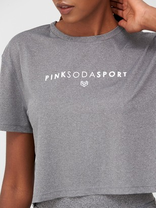 Pink Soda Ave Sports T-Shirt - Grey
