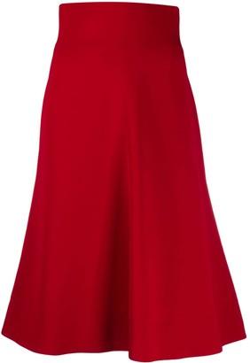 Philosophy di Lorenzo Serafini High-Waisted Flared Skirt