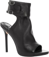 Max Studio Edina - Leather High Heeled Ankle Cuff Sandal