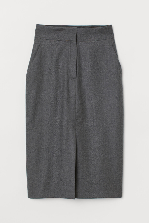 H&M Wool pencil skirt