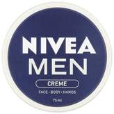 NIVEA MEN Crème, All Purpose Cream for Face, Body & Hands, 75ml