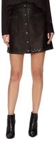 Rebecca Minkoff Rocking Leather A Line Skirt