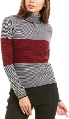 Piazza Sempione Turtleneck Wool & Cashmere-Blend Sweater