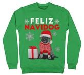 Men's Feliz Navidog Sweatshirt Green