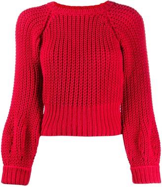Maison Flaneur chunky knit jumper