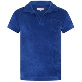 Orlebar Brown Orlebar BrownBoys Blue Towelling Polo Top
